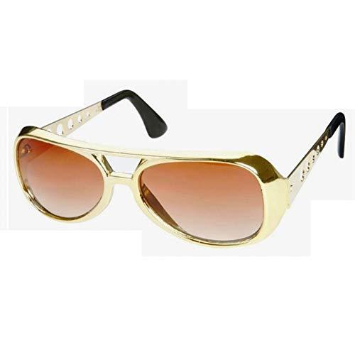 soleil king lunette 70 de presley hotrodspirit doré look rock style année roll elvis 0EFqwpx