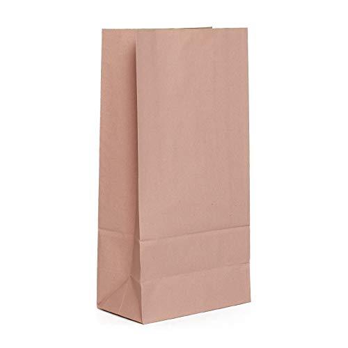 Bolsas de papel de color rosa palo para regalos de invitados ...