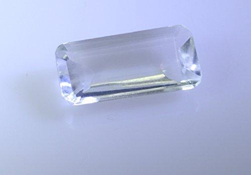 cristal quartz baguettes de pierres précieuses lâche facettes 1 pc 8x16 mm stcqu-1924