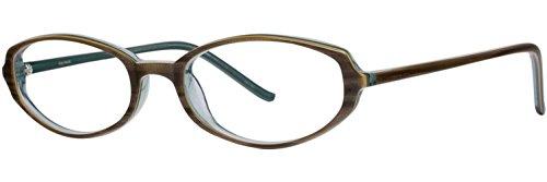 VERA WANG Eyeglasses V009 Olive 49MM