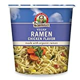 Dr. McDougall's Right Foods Ramen Chicken Soup with Noodles, 1.8-Ounce (Pack of 24)