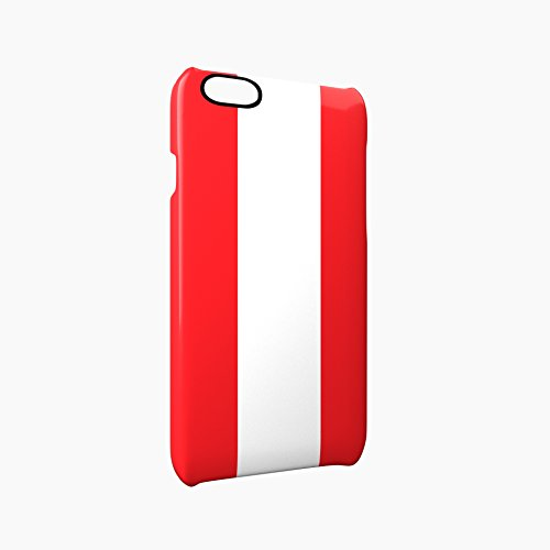 Flag of Austria Glossy Hard Snap-On Protective iPhone 6 Plus + / 6S Plus + Case Cover