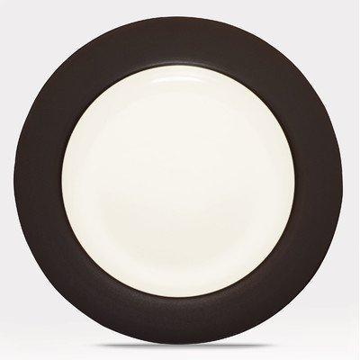 Noritake Colorwave Rim Dinner Plate, Chocolate by Noritake