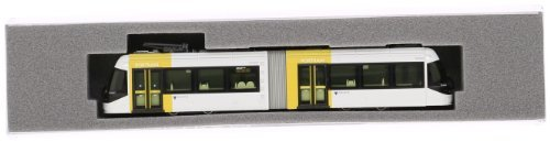 N gauge 14-801-6 Toyama Light Rail TLR0603 (yellow)