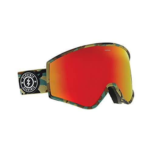 Snowboard Goggles Electric Eg2 (Electric Kleveland Ski Goggles, Camo/Brose/Red Chrome)