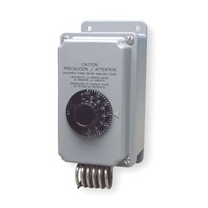 Line Voltage Mechanical Thermostat 2 Stage Heating Or Cooling 24