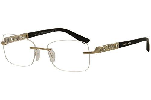 Bvlgari - GIARDINI ITALIANI BV 2184B, Geometric, metal, women, ROSE GOLD BLACK(376 M), - Frames Eyewear Bvlgari