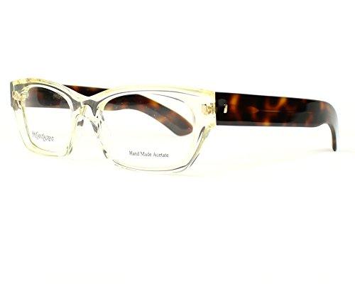 Yves Saint Laurent frame (YSL-6333 95W) Acetate Transparent White - Havana