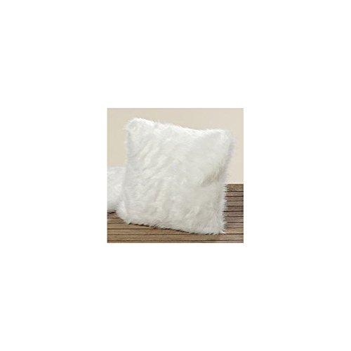 Funda de cojín almohada cojín blanco 40 x 40 cm Charlene ...