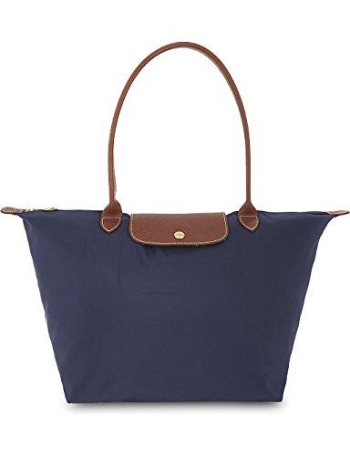 Longchamp , Damen Tote-Tasche marineblau large marineblau