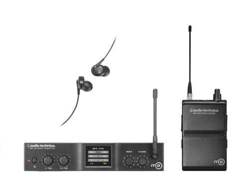 Audio-Technica Pro M2M Wireless In-Ear Monitor System on Band M by Audio-Technica