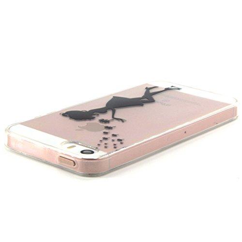 iPhone SE iPhone 5 iPhone 5S Hülle,Cozy Hut iPhone SE / 5 / 5S Shock Proof Hülle Schutzhülle Case Cover Bumper mit Heavy Duty Shock Absorption und Anti Scratch Back für iPhone SE / 5 / 5S - Löwenzahn