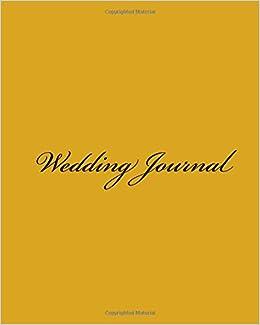 Wedding Journal: (Extra Large Wedding Journal)