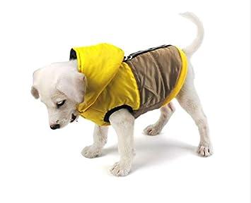 TYJY Abrigo para Perros De Algodón Cálido Cazadora Reflectante Impermeable para El Invierno Ropa para Perros