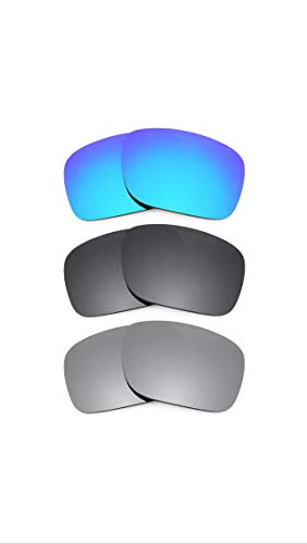 Polarized Lens For Oakley Gascan Replacement Lenses with UV Protection (3 pieces pack)