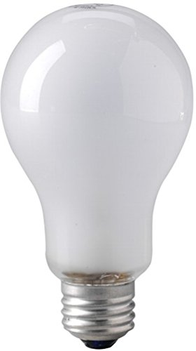 Eiko 00040 - BBA Photoflood Light Bulb 120V 250W Inside Frosted A-21 E26 Base (Light Eiko Bulb White Incandescent)