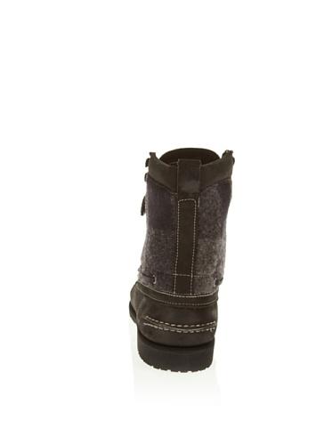 Sebago FILSON OSMORE B73108 - Botas de cuero para hombre Negro