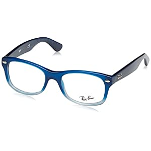 Ray Ban Junior RY1528 Eyeglasses-3581 Opal Blue Faded-46mm