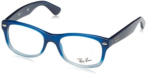 Ray Ban Junior RY1528 Eyeglasses-3581 Opal Blue Faded Opal - Ray Womens Ban Glasses Frames