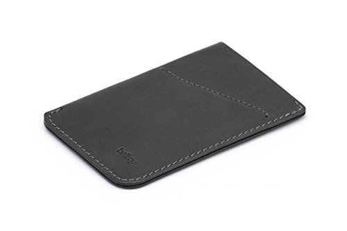 Bellroy Leather Card Sleeve Wallet Charcoal