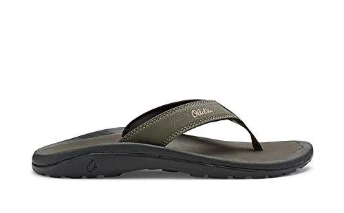 OLUKAI Men's Ohana Sandals, Kona/Kona, 10 M US ()