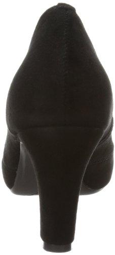 Andrea Conti 1006415 - Plataforma de cuero mujer negro - Schwarz (schwarz 002)