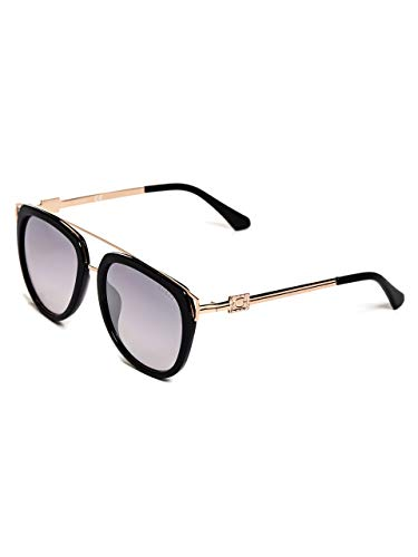 GUESS Factory Women's Brow Bar Square Sunglasses ()