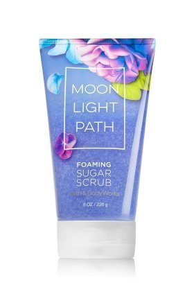 (Bath & Body Works Foaming Sugar Scrub Moonlight Path 8 Oz)