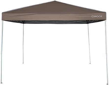 Plegable Carpa, Carpa Pop-up portátil instantánea con bolsa – 10 x 10 FT, csnook: Amazon.es: Jardín
