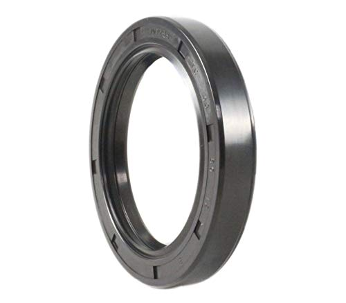 Metal Case w//Nitrile Rubber Coating EAI Oil Seal 58mm X 80mm X 12mm TC Double Lip w//Spring