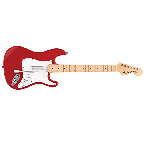 Stratocaster Fender Controller (Rock Band 4 Wireless Fender Stratocaster Guitar Controller for PlayStation 4 - Red)