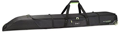 High Sierra Wheeled Double Adjustable Ski Bag, (Pro Ski Bag)