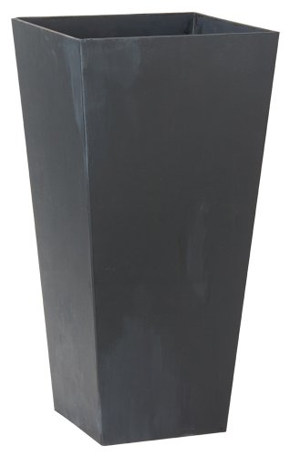 Vase Outdoor (Novelty ArtStone Ella Tall Planter, Black, 19.5-Inch)