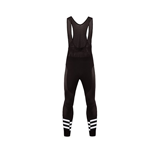Leg Assos - Uglyfrog Winter Men's Thermal Cycling Bib Pants/Tights, Leg with Zipper Detailing, Gel Pad
