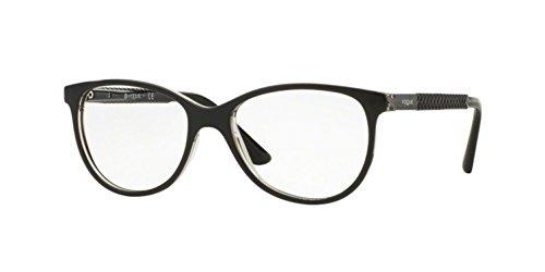 Vogue VO5030 Eyeglass Frames W827-53 - Top Black/Transparent
