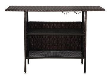 Barrington Wicker Storage Bar 55.1
