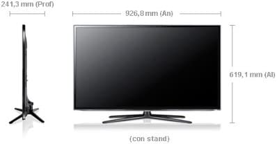 Samsung UE46ES6100 - Televisor LED 3D de 46 pulgadas con Smart TV ...