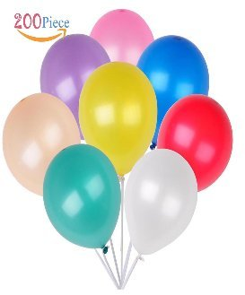 200 Count/Pack Balloons 12