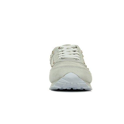 Versace Beige Sneaker Jeans Bianco Donna Amber xw0qY0Zr8