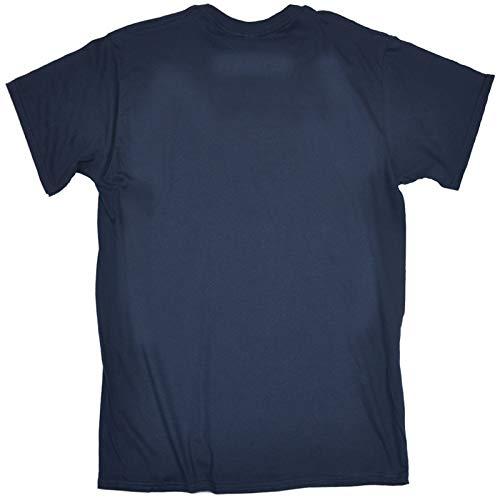 Homme 123t Manches T Bleu Courtes Marine shirt Slogans RT8wqTg