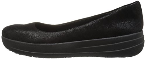 Fsporty Ballerina Pour Femmes Noirblack Glimmer Ballerines Suede Tm Fitflop 403 EH9DI2