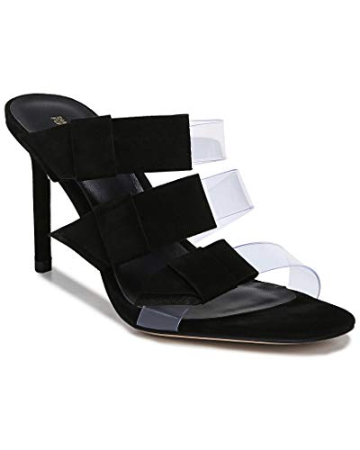 Diane von Furstenberg Women's Amari 2 Sandals, Black, 7.5 Medium US