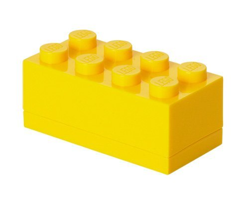 Lego Mini Lunch Box 8 Yellow