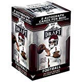 2019 LEAF NFL DRAFT Series Factory Sealed Blaster Box of Packs with 2 GUARANTEED Autographed Cards per box! One of the First 2019 Football Products on the market! (Elite Basketball Card Box)