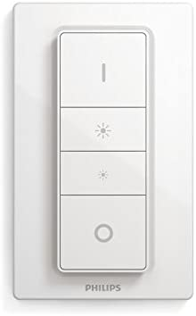 Philips Hue LED Deckenleuchte Still inkl. Dimmschalter, dimmbar, alle Weißschattierungen, steuerbar via App, aluminium, kompatibel mit Amazon Alexa (Echo, Echo Dot)
