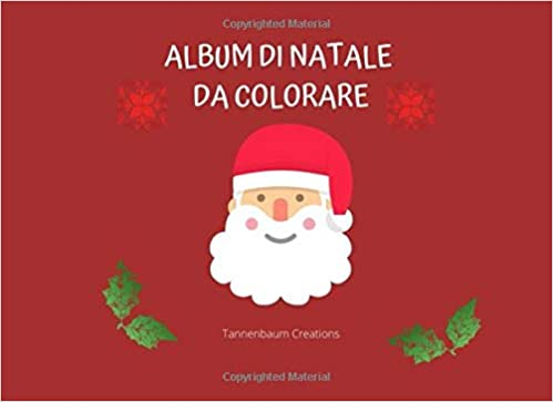 Album Di Natale Da Colorare 52 Disegni Da Colorare