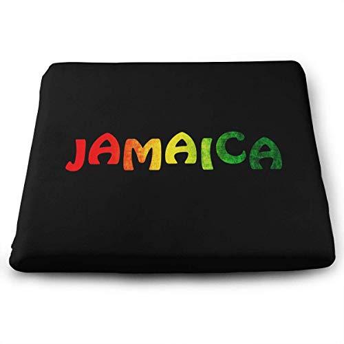 Jamaica Chair Cushion - Jamaica Reggae,Memory Foam Square Chair Pad Cover Fashion Seat Cushion