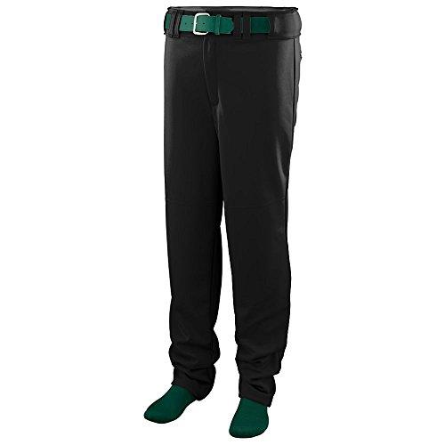 Augusta Sportswear Augusta Series Baseball/Softball Pant, Black, Medium