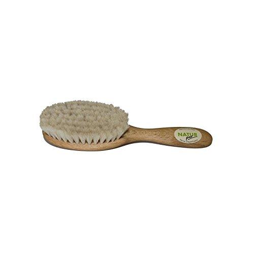Brosse en bois de hêtre & poil de chèvre (Popolini)
