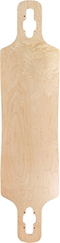 - Price Point Blank T10 LB Drop Through Skateboard Deck-9.5x38 NAT w/Mob Grip